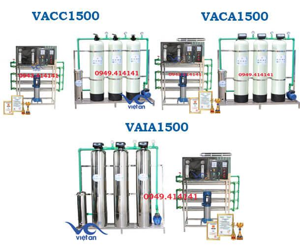 Hệ thống lọc nước 1500l