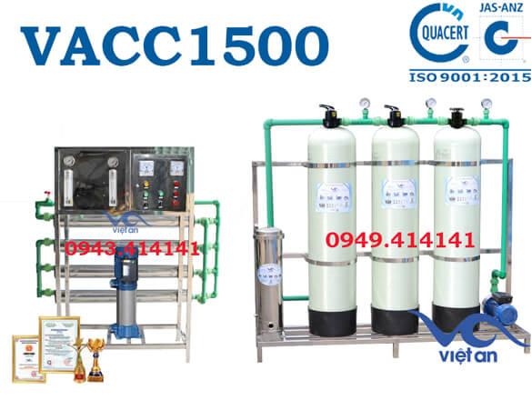 Hệ thống lọc nước đóng chai 1500l